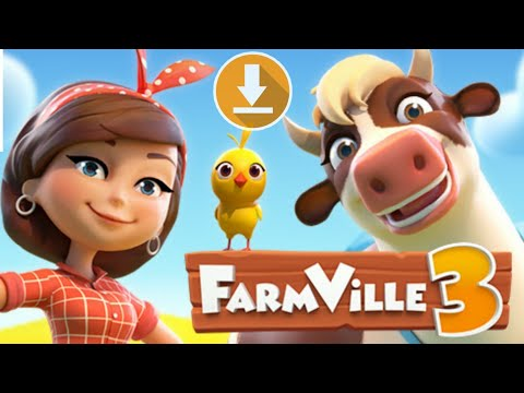 Farmville 3: Animals Download   How To Download+Gameplay Tutorial   New Game 2019, 2020