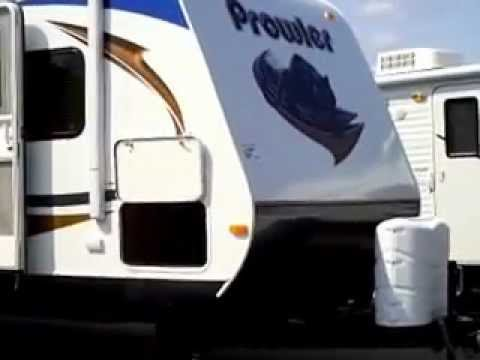 2013 Prowler 32PBHS bunk house travel trailer at Bullyan RV in Duluth, MN