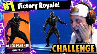 The BLACK PANTHER CHALLENGE in Fortnite: Battle Royale