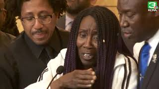 'They didn't have to kill him like that,' Stephon Clark's grandmother says