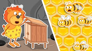 Lion Family Official Channel | Jurassic World №4. Build House For Bees | Cartoon For Kids