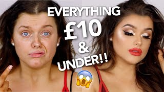 GLAM AF PROM MAKE UP ON A BUDGET!!   Rachel Leary