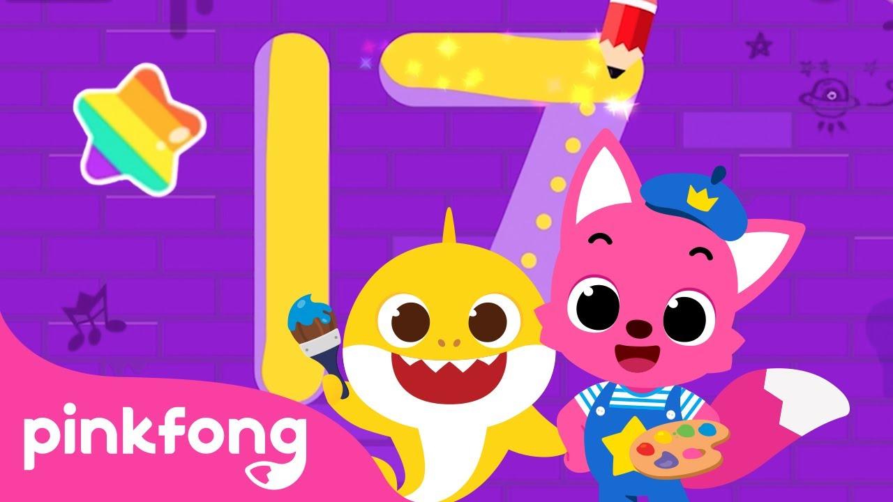 Pinkfong Traços para escrever | Jogo de Pinkfong | Jogo de App | Pinkfong App para Crianças