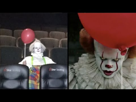 People dressing up like 'It' to watch 'It' movie; Woman delivers own baby at home - 09/12/2017