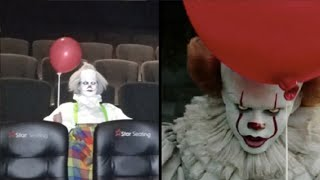People dressing up like 'It' to watch 'It' movie; Woman delivers own baby at home   09/12/2017