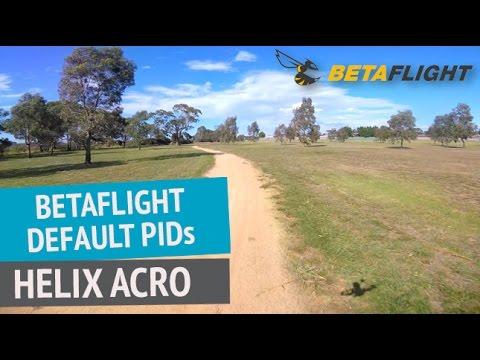 Betaflight 3.1.7 Default PIDs - Drone FPV Acro