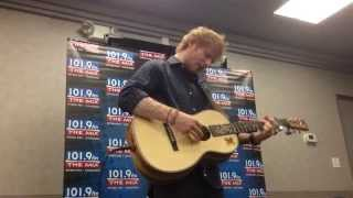 Ed Sheeran's private performance before Chicago show 9-16-14!