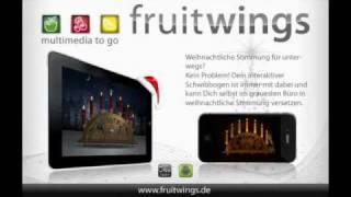 Fruitwings Schwibbogen (candle Arch)