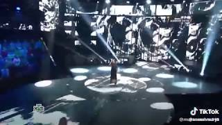 Young girl singing joker bgm / unbelievable audition