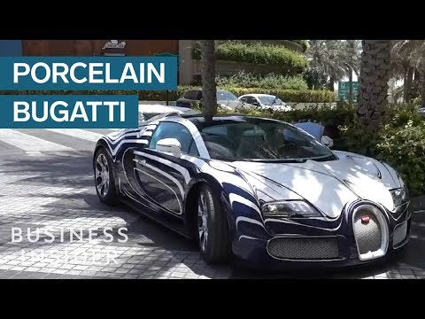 How Bugatti Made A Car That's Made Entirely Of Porcelain