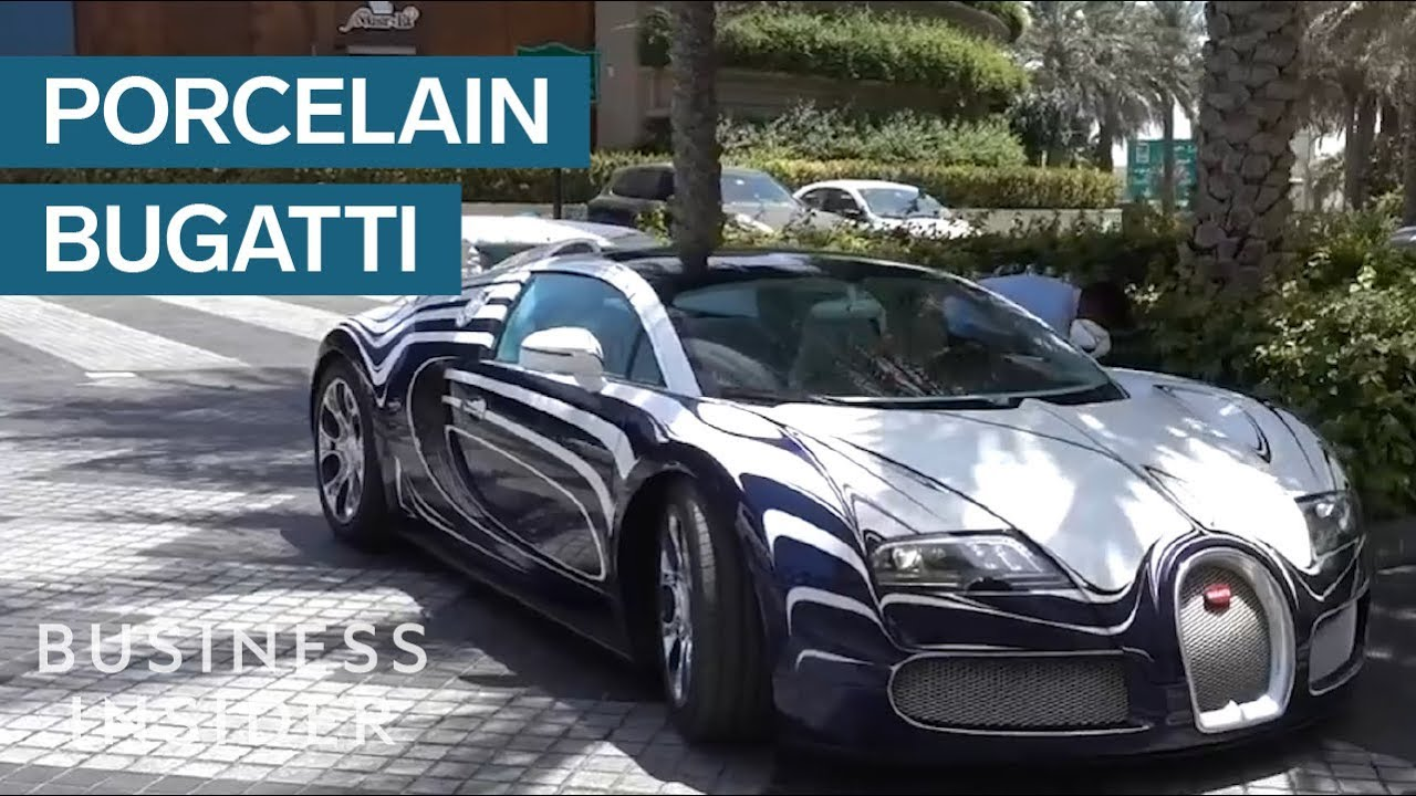 how bugatti made a car that's made entirely of porcelain - youtube