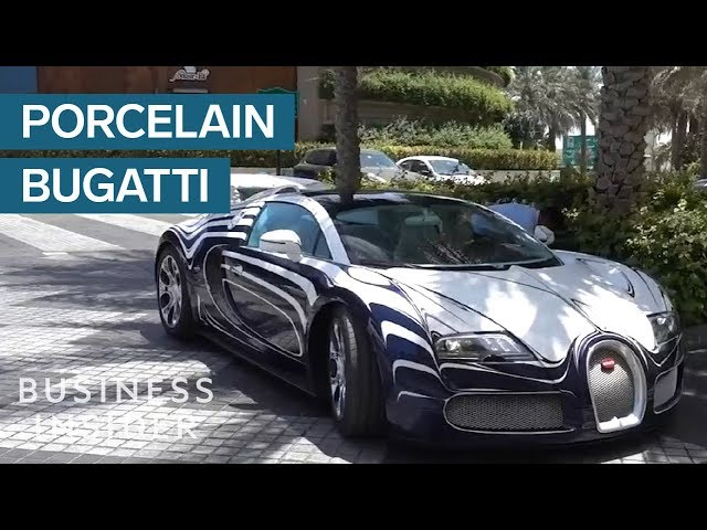This 2 4 Million Bugatti Veyron Made From Porcelain Is One Of A Kind Bro
