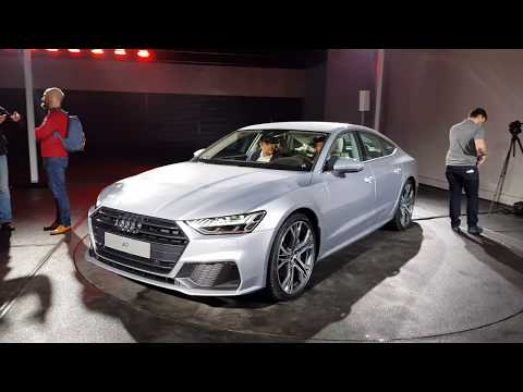 [4k] NEW Audi A7 in SUPERDETAIL + INTERIOUR and haptic feedback MMI system