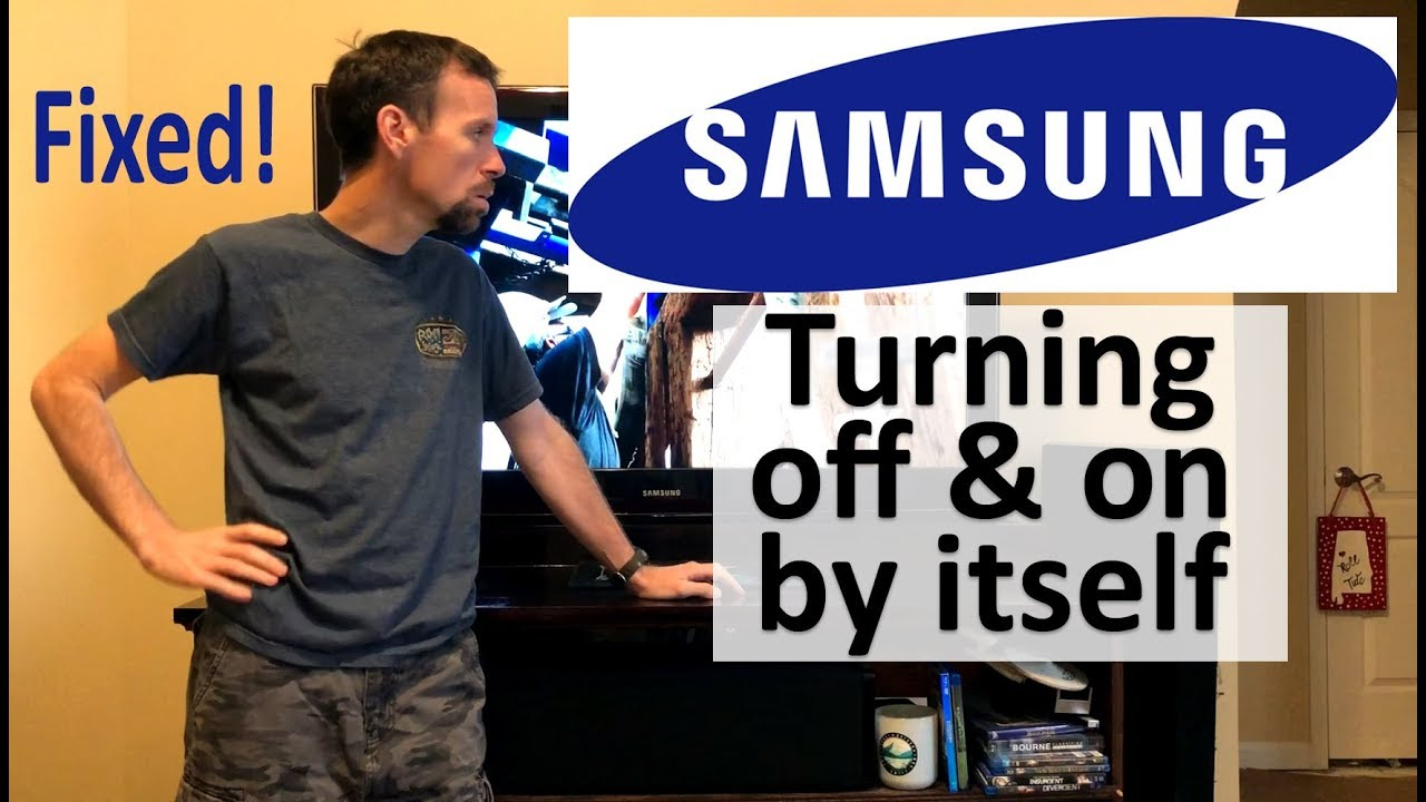 How To Fix Samsung Tv Turning Off And On By Itself Youtube Power Supply Is Turned Automatically