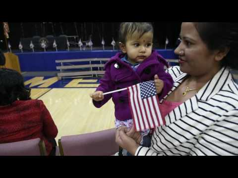 61 New United States Citizens Sworn in at Bishop Grimes