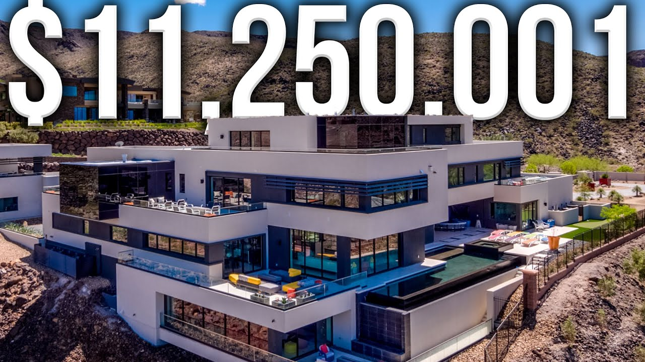 INSIDE THE MOST EXPENSIVE HOME IN LAS VEGAS