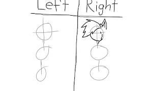 Right vs left hand challenge {drawing me in my summer clothes}