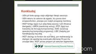 73-a AMO-Seminario: Komerco kaj Esperanto – kun IKEF