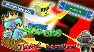 BUYING PHOTON BEE!!! *New* TICKET & JELLY LOCATIONS !!! - Roblox bee swarm simulator
