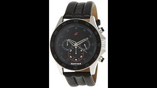 Fastrack ND3072SL06 Chronograph Watch unboxing & hands on