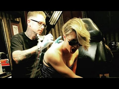 Kaley Cuoco Covers Up Wedding Date Tattoo With a Moth --See The Pic!