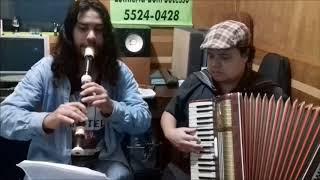 Wesley F. Sousa e Thiago Ferreira são professores de Música na EMBS