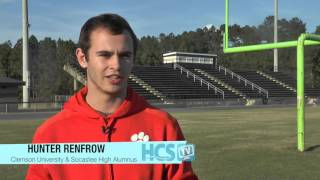Hunter Renfrow ... An Inspiring Story!