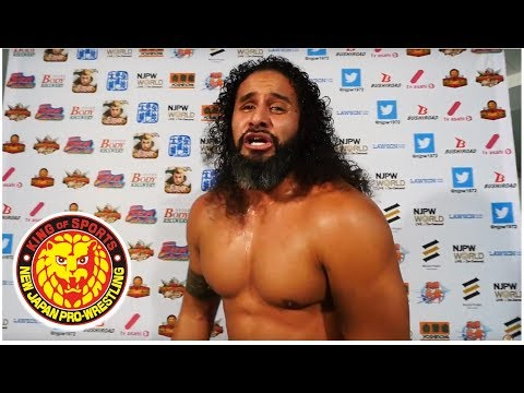 G1 CLIMAX 28 Night8 (July 26) - Post-match Interview [7th match]