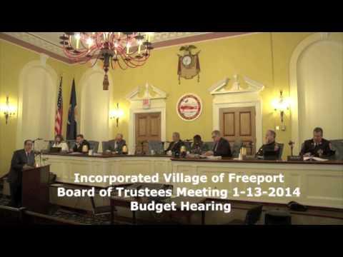Freeport, NY 2014 Budget Presentation