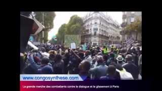 La grande marche des combattants contre le dialogue et le glissement à Paris