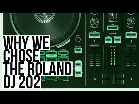 Why We Chose the Roland DJ-202