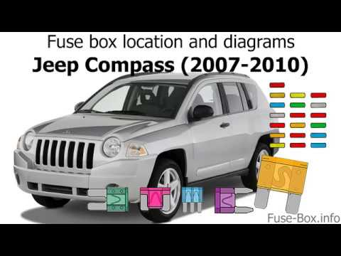 Fuse box location and diagrams: Jeep Compass (MK49; 2007-2010) - YouTubeYouTube