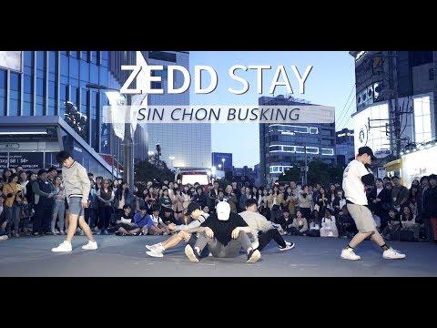 [ 신촌 버스킹 ] ZEDD - STAY / Choreography . Seung Jae