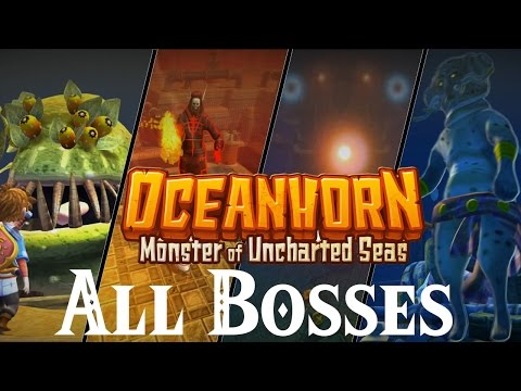 Oceanhorn Monster of Uncharted Seas // All Bosses