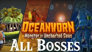 Oceanhorn : Monster of Uncharted Seas // All Bosses