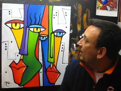Creating Another Abstract Pop Art Painting Fidostudio Youtube Abstract painting canvas of horse head. creating another abstract pop art painting fidostudio