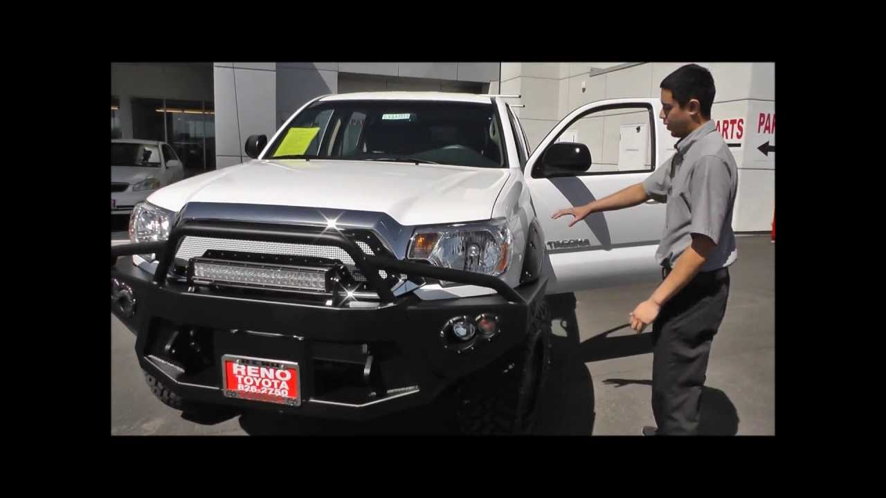 Toyota Tacoma Baja Accessories Package Reno Toyota Youtube