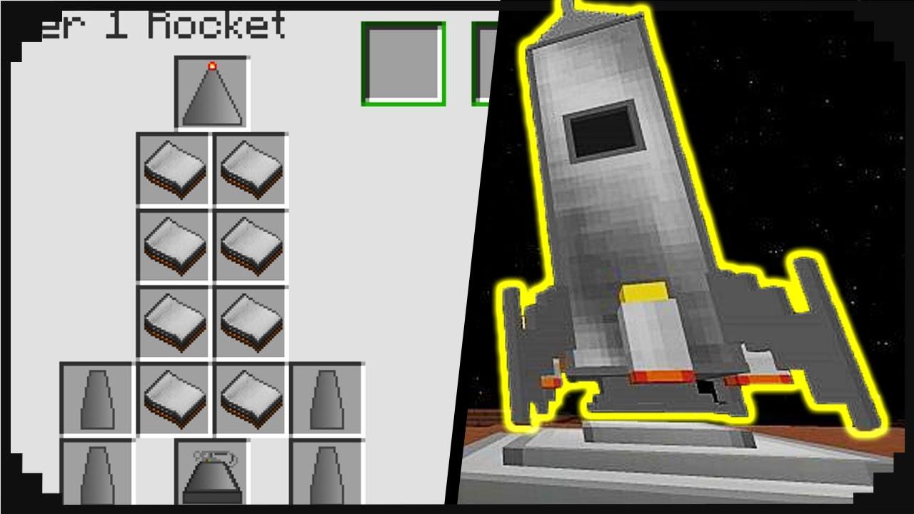 как сделать ракету в майнкрафт 1 7 10 без модов #2