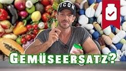 Gemüse vs Vitaminkapseln