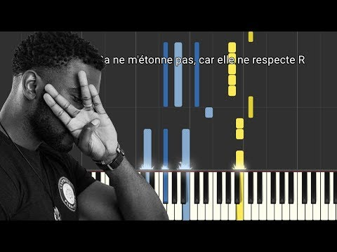Damso - N. J Respect R (Piano Tutorial/Paroles)