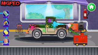 Kids Car Wash Service Auto Workshop Garage  - Android Game Play