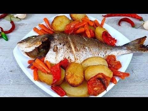 """Рыба """"Отвал башки"""" Жаль, что многие даже и не слышали про такой гениальный простой рецепт"""