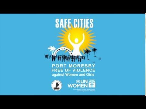 Safe markets for women vendors in Papua New Guinea (HD)