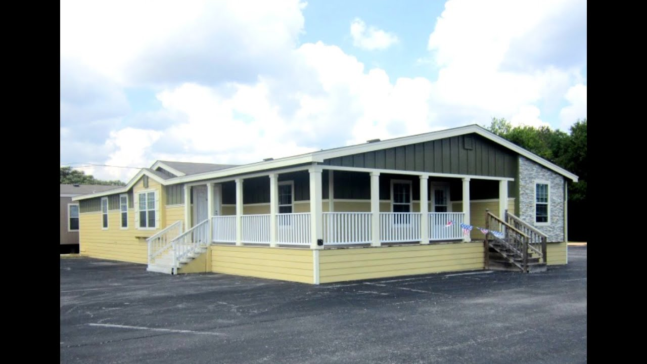 Country cottage 4 bed built in porch mobile homes in san - What is a modular home ...