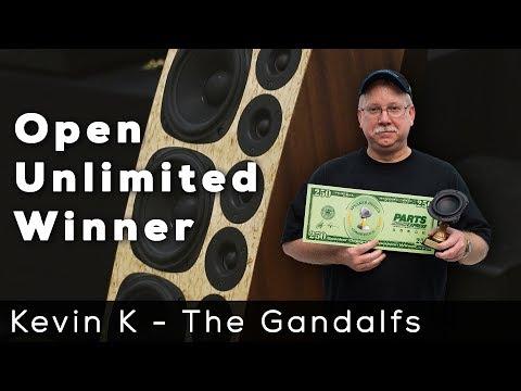 Speaker Design Competition Winner - Kevin Kendrick - The Gandalfs