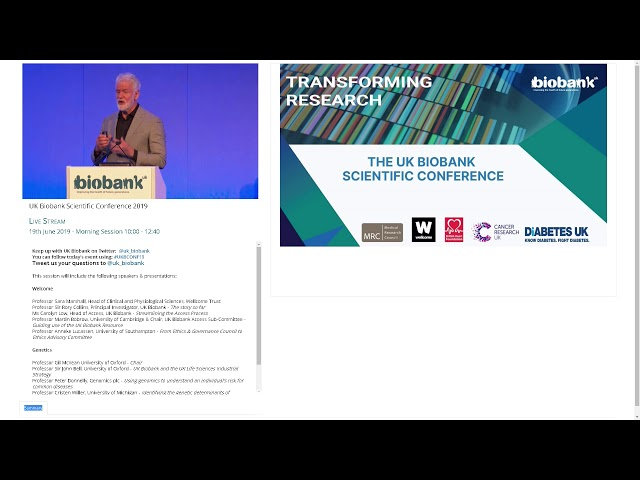 Professor Kari Stefansson - Why bother to whole genome sequence UK Biobank