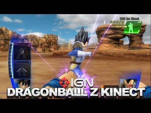 Dragon Ball Z for Kinect: Vegeta vs. Piccolo - TGS 2012