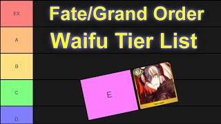 Top 10 waifus fategrand order