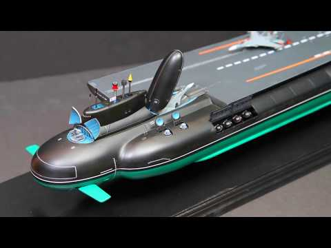 Russia's Futuristic Hybrid Nuclear Submarine Aircraft Carrier Concept