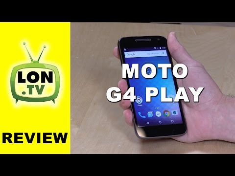 Moto G Play Review (4th gen) - $99 (Amazon) / $149 Smartphone Verizon, Sprint, T-Mobile, AT&T